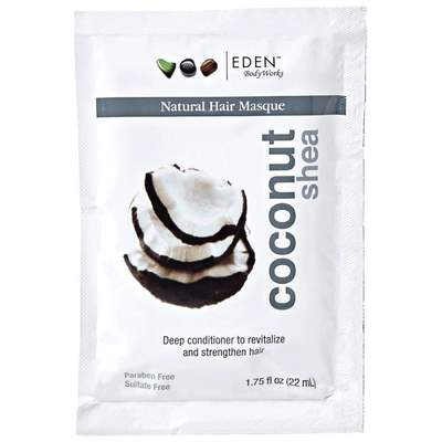 Eden BodyWorks Coconut Shea Hair Masque 1.75oz - BlackBeautique