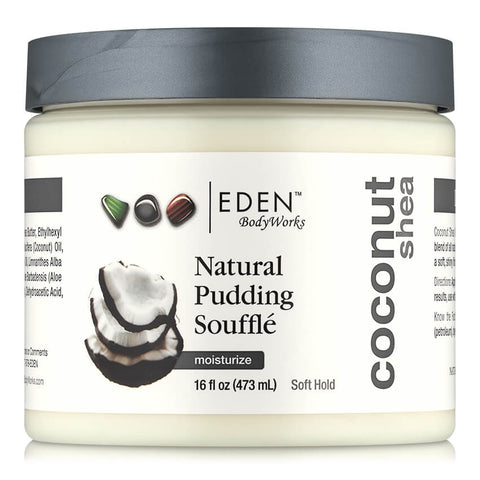 Eden BodyWorks - Coconut Shea Pudding Souffle 473ml - Black Beautique