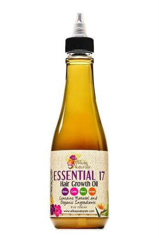Alikay Naturals - Essential 17 Hair Growth Oil 236ml - BlackBeautique