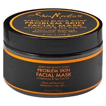 SheaMoisture African Black Soap Problem Skin Facial Mask 118ml - Black Beautique