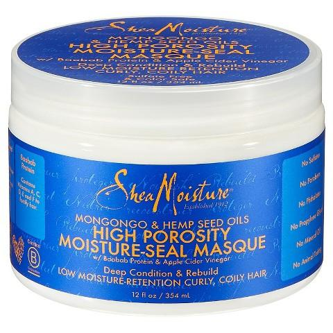 SheaMoisture - Mongongo Hempseed High Porosity Masque 384ml - Black Beautique