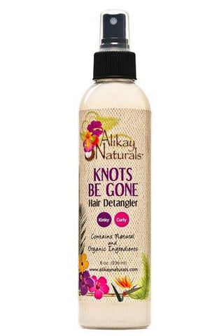Alikay Naturals - Knots Be Gone Hair Detangler 8/16 oz - BlackBeautique