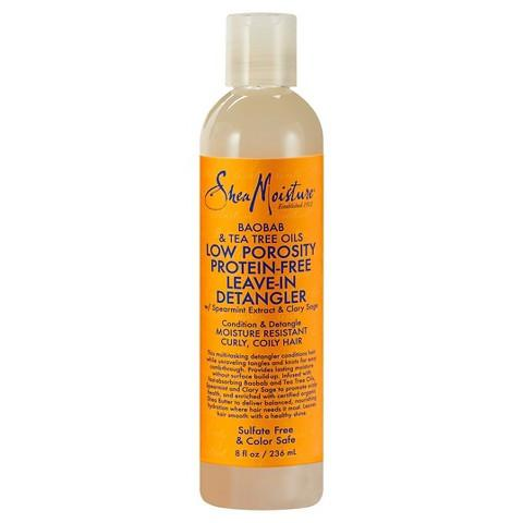 SheaMoisture - Low Porosity Protein-Free Leave-In Detangler 237ml - Black Beautique