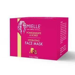 MIELLE - Pomegranate & Honey Hydrating Face Mask 100g - Black Beautique