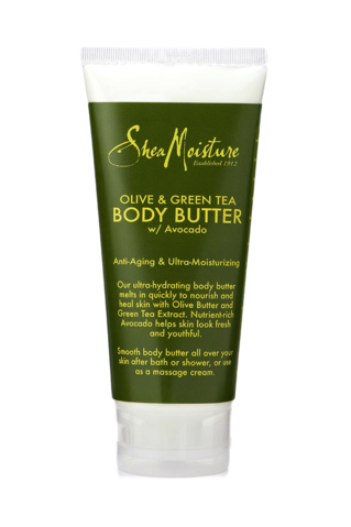 SheaMoisture - Olive & Green Tea Body Butter 177ml - Black Beautique