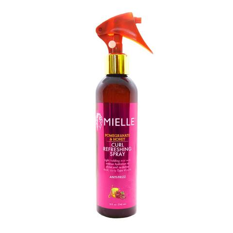 MIELLE - Pomegranate & Honey Curl Refreshing Spray 240ml - Black Beautique