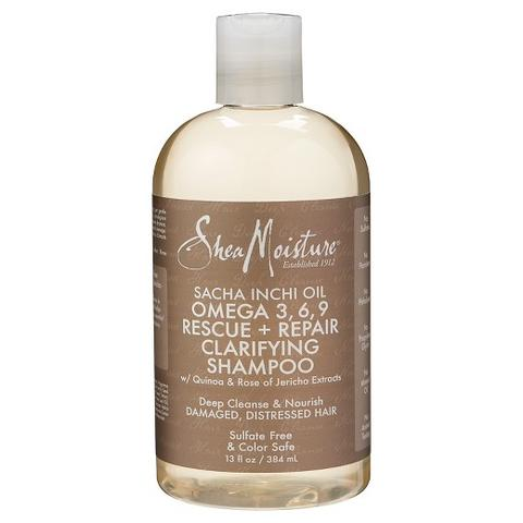 SheaMoisture Sacha Inchi Oil Omega-3-6-9 Rescue + Repair Clarifying Shampoo