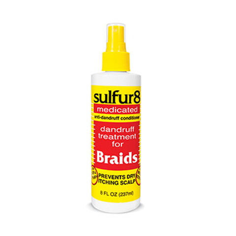 sulfur8 - Anti-Dandruff Braid Spray - 12oz