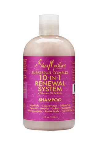 SheaMoisture Superfruit Complex 10-in-1 Renewal System Shampoo 384ml - Black Beautique