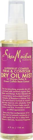SheaMoisture Superfruit Complex Dry Oil Mist 118ml - Black Beautique