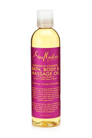 SheaMoisture - Superfruit Complex Bath, Body & Massage Oil 237ml - Black Beautique
