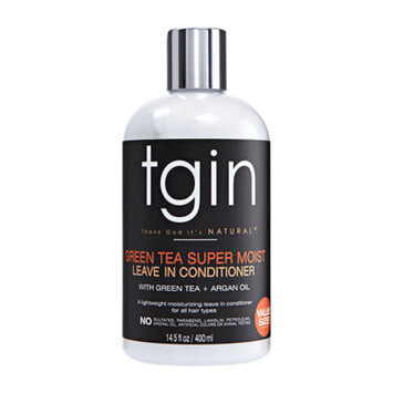 tgin Green Tea Super Moist Leave In Conditioner 400ml - Black Beautique