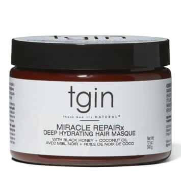 Tgin Miracle RepaiRx Deep Hydrating Hair Mask 340g - Black Beautique