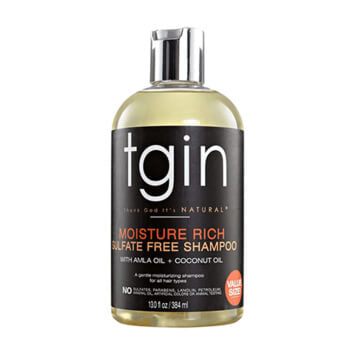 tgin Moisture Rich Sulfate Free Shampoo 384ml - Black Beautique