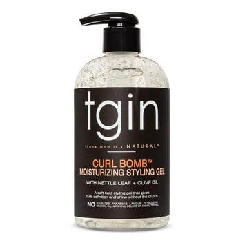 tgin Curl Bomb Moisturizing Styling Gel 384ml - Black Beautique