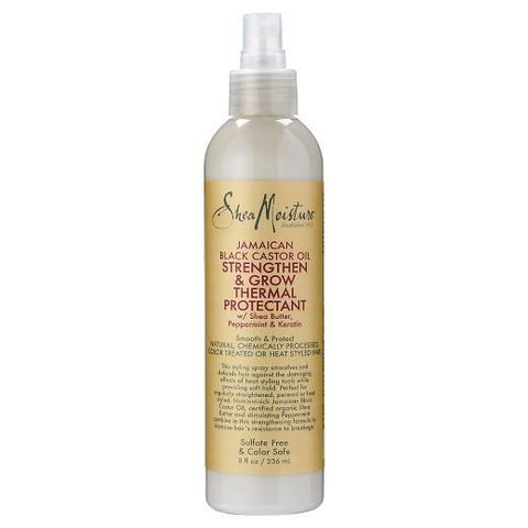 Shea Moisture - Jamaican Black Castor Oil Strengthen & Restore Thermal Protectant 236ml - Black Beautique
