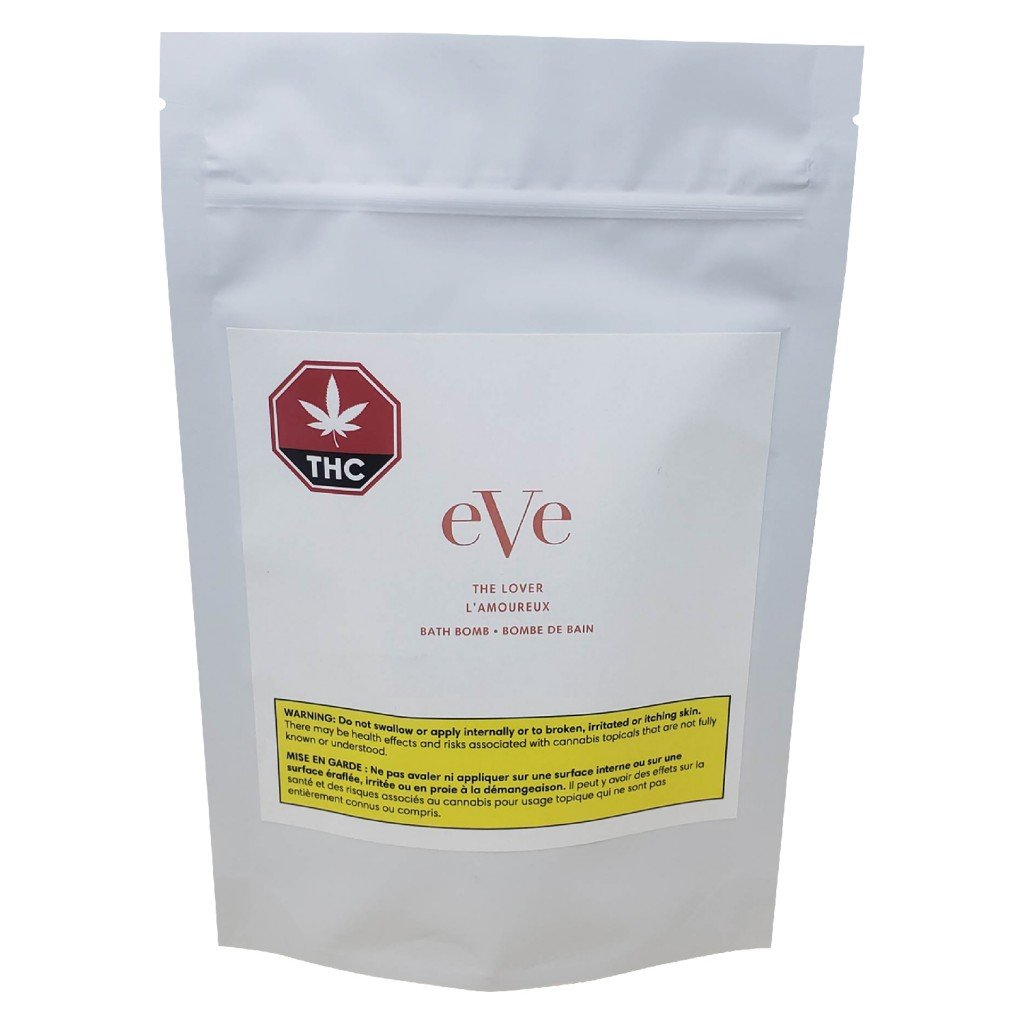 Eve & Co.  The Lover Bath Bomb Topical