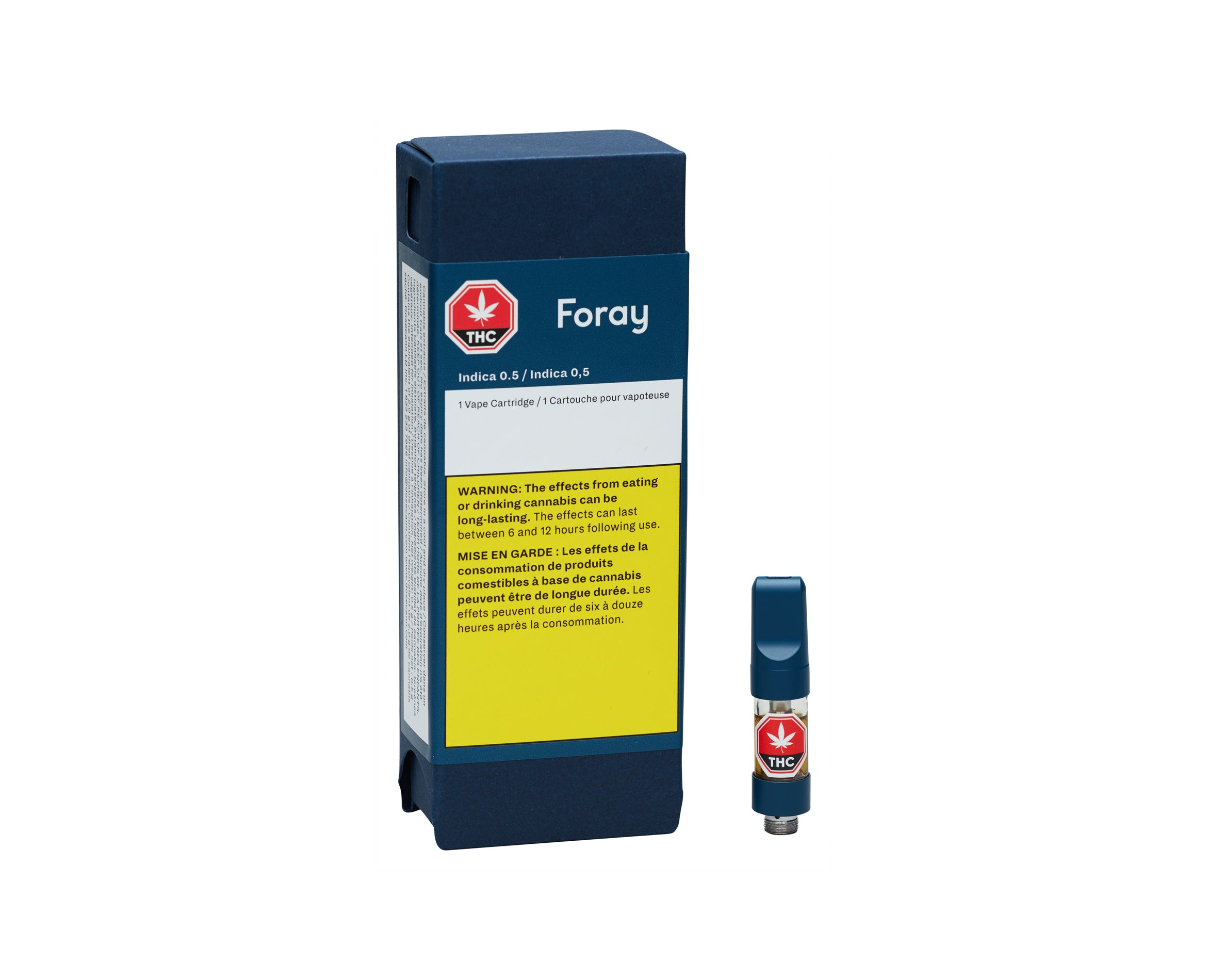 Foray Indica 510 Vape Cartridge