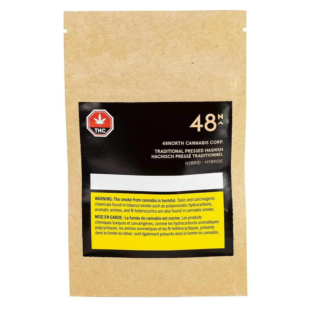 48North Traditional Pressed Hashish Concentrate