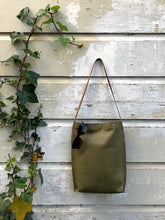 Load image into Gallery viewer, Olive Green Urban Tote