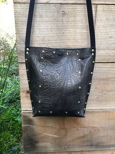 Embossed Urban Crossbody, Medium
