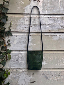 Distressed Green Urban Crossbody, Small