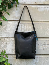Load image into Gallery viewer, Solid Black Urban Tote