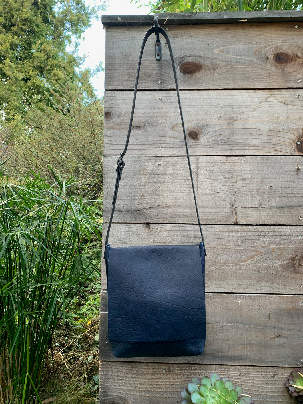 Deep Blue Urban Satchel
