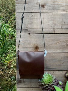 Deep Brown Urban Satchel