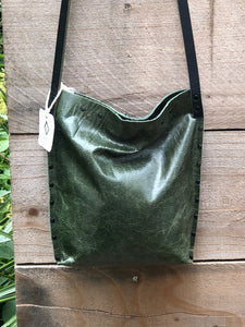 Green Urban Crossbody, Medium