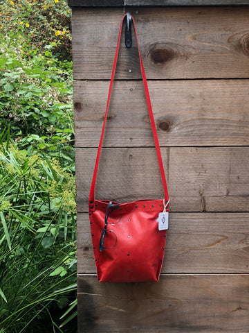 Red Urban Crossbody, Medium