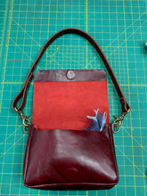 Load image into Gallery viewer, Deep Red Urban Hip Bag