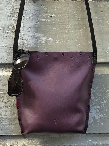 Plum Urban Crossbody, Medium