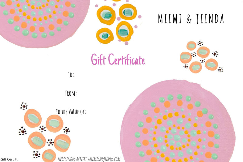 Gift Certificate 70
