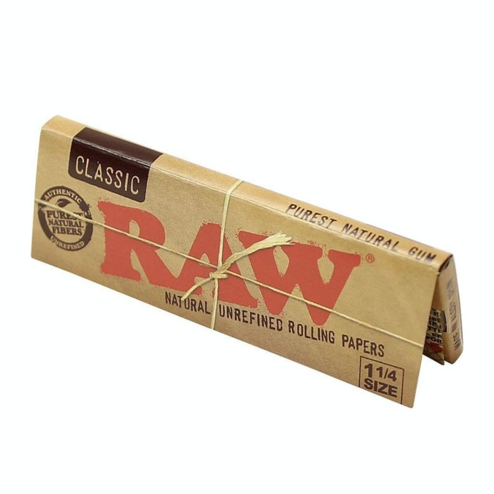 RAW Classic Unrefined 1.25 papers