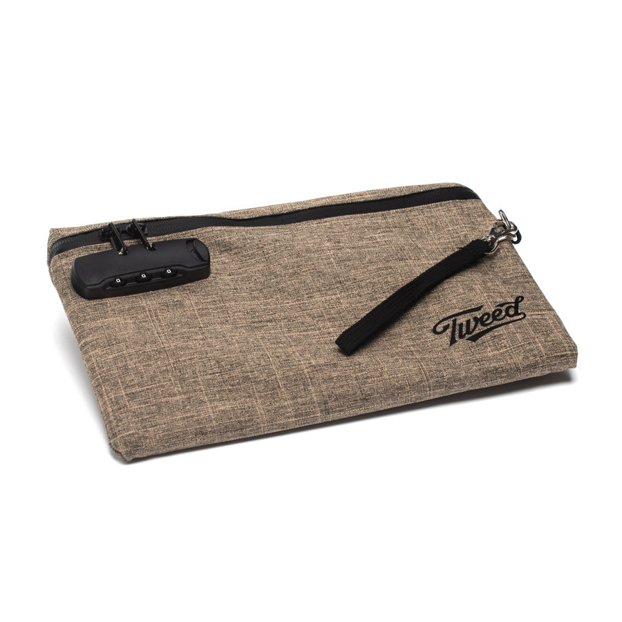 Tweed Smell Proof Pouch