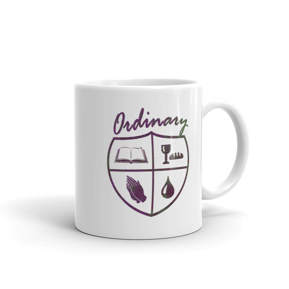 Ordinary means of grace reformed 11 oz mug white