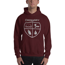 Load image into Gallery viewer, Ordinary means of grace reformed hoodie maroon