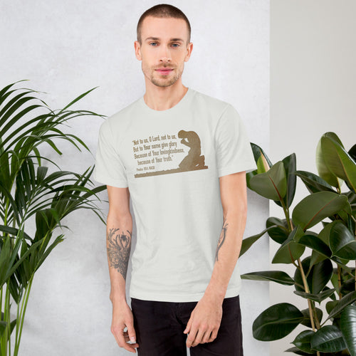Not to Us Tee (Men's) 2