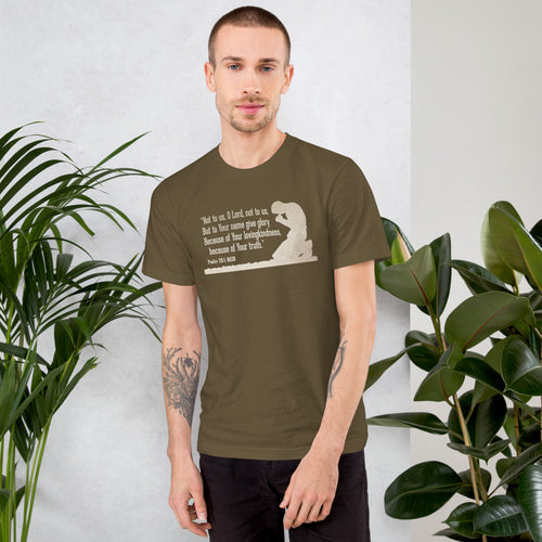 Not to Us Tee (Men's) 1