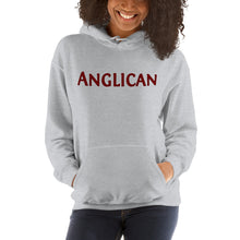 Load image into Gallery viewer, Anglican grey hoodie