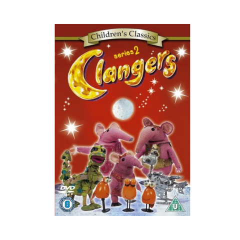 The Clangers Series 2 DVD