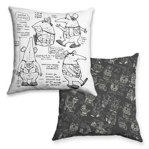 Clangers Cushion