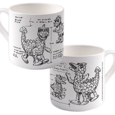Clangers Bone China Mug