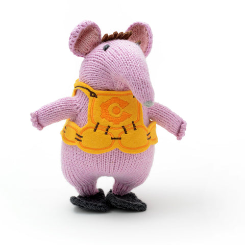 Hand Knitted ChunkiChilli Major Clanger Plush