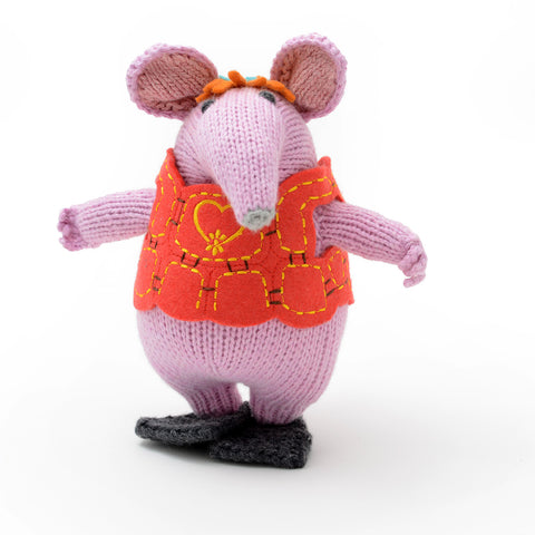 Hand Knitted ChunkiChilli Mother Clanger Plush