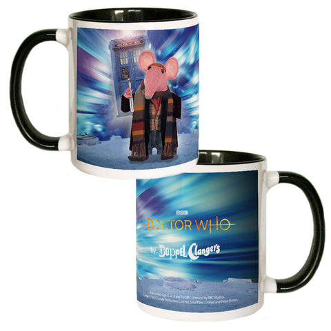 DoppelClangers Coloured Insert Mug - Fourth Doctor