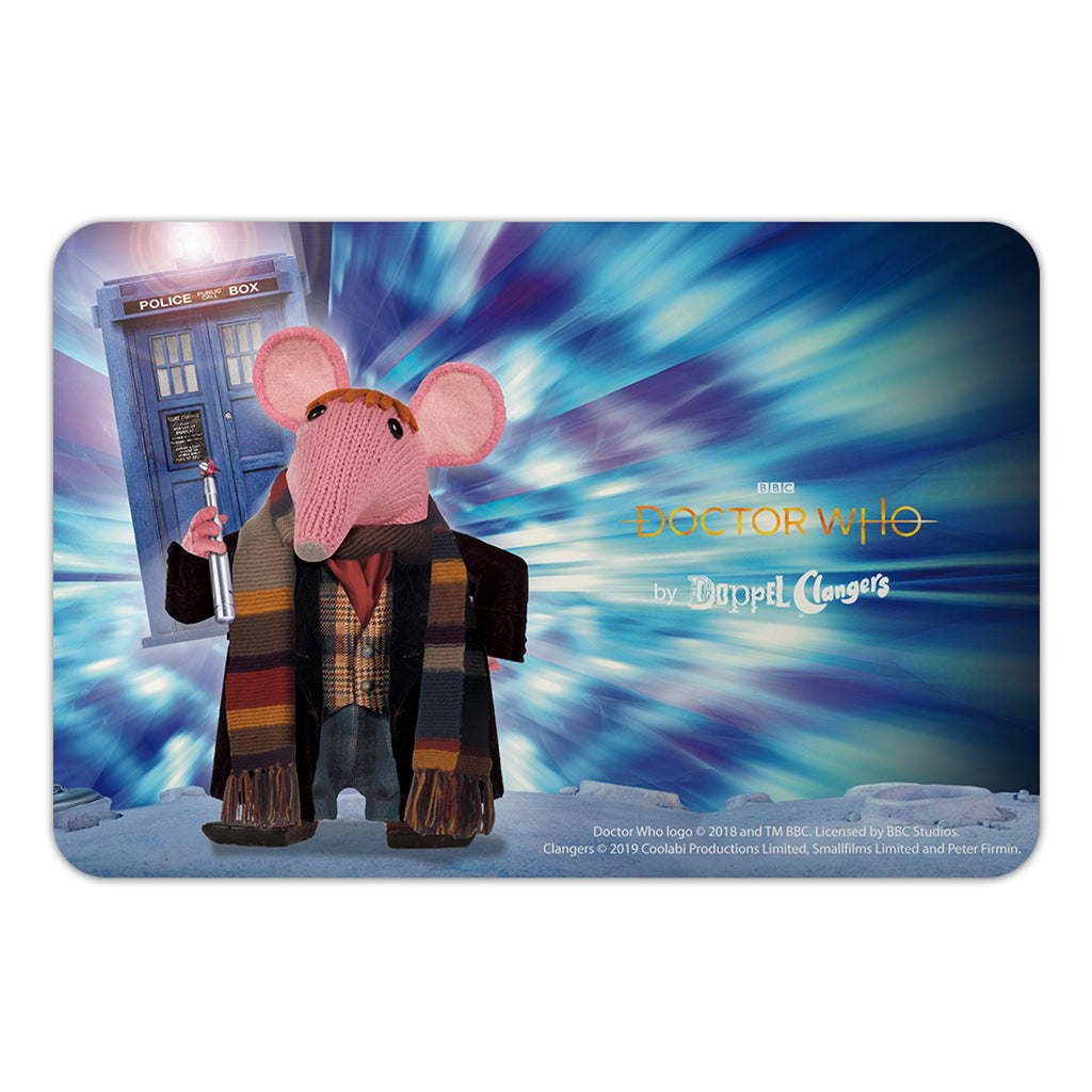 DoppelClangers Door Plaque - Fourth Doctor