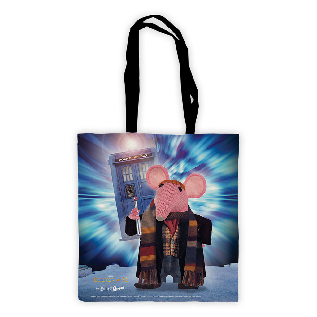 DoppelClangers Edge to Edge Tote Bag - Fourth Doctor