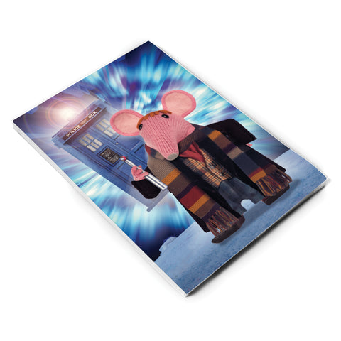 DoppelClangers A5 Notepad - Fourth Doctor